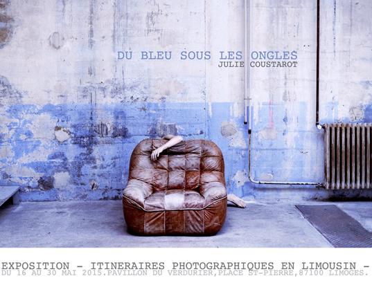Julie Coustarot-du bleu sous les ongles