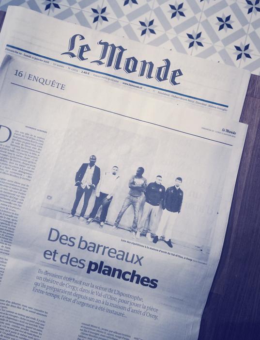 Julie Coustarot-Florence Aubenas- Le Monde