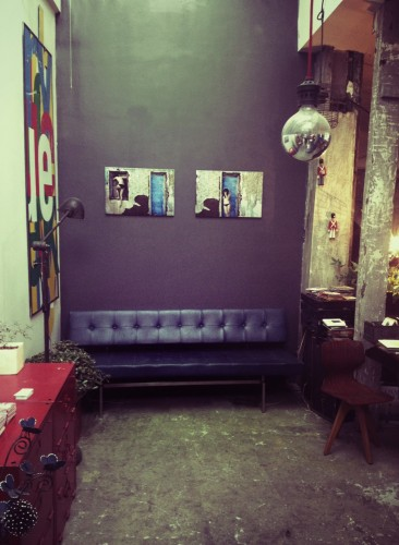 Exposition blue rooms atelier 154 julie coustarot - Atelier 154 ...