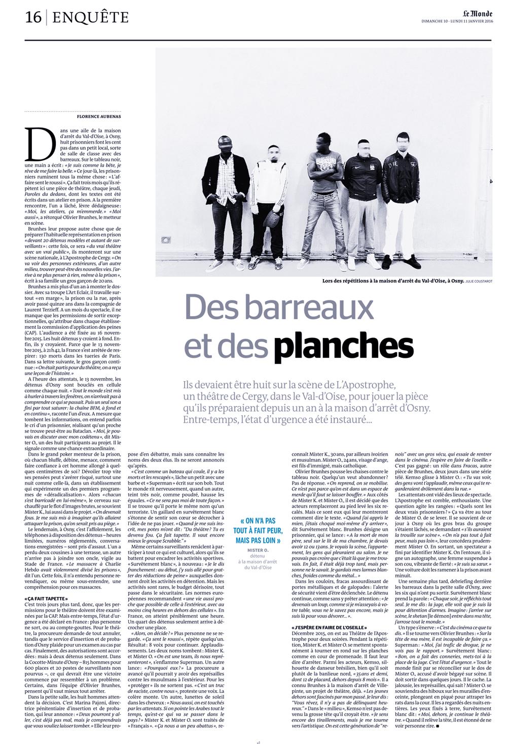 Le Monde-Julie Coustarot